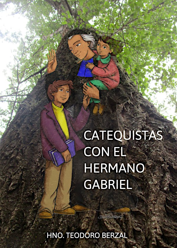 Catequistas con el Hermano Gabriel
